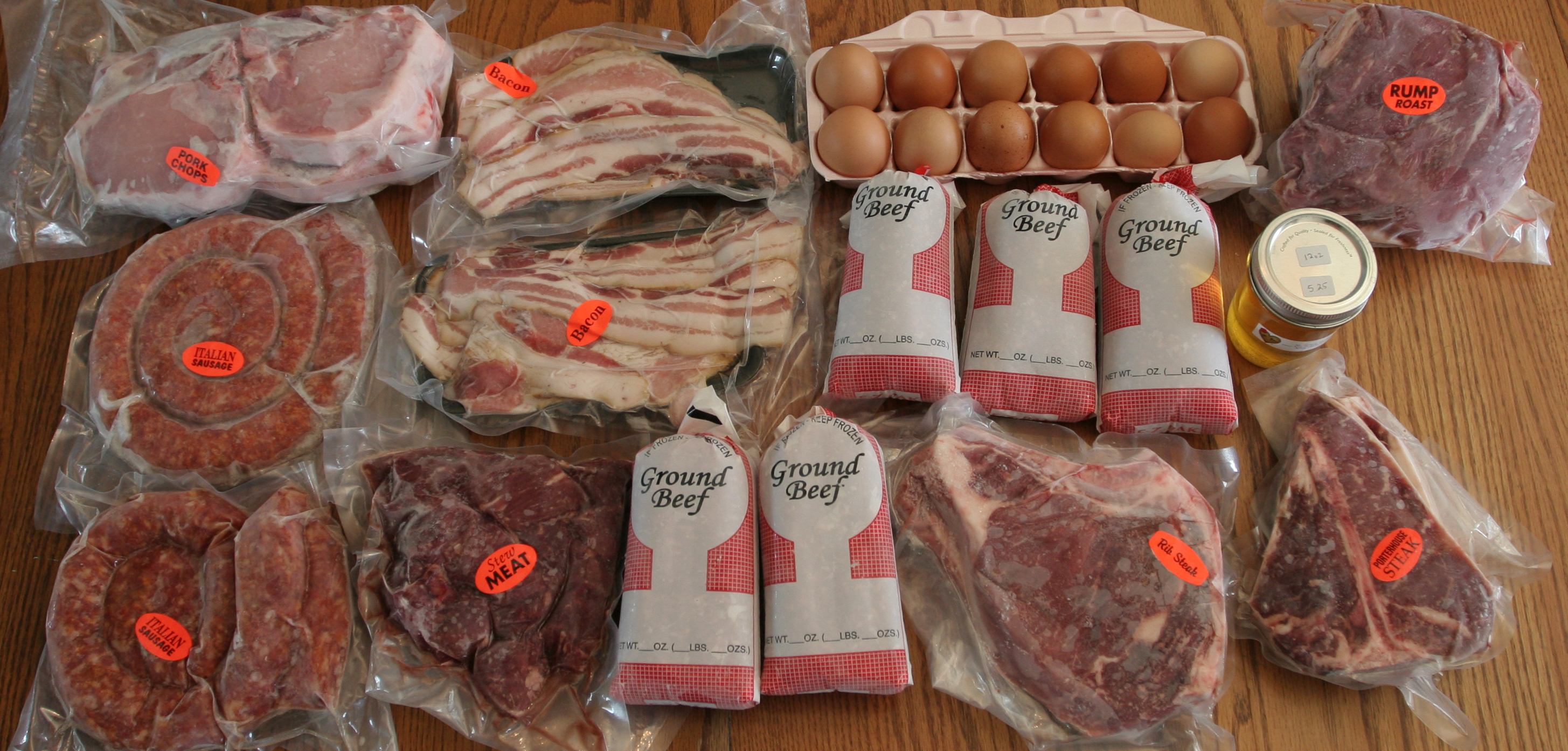 Dostall Farms - All natural, grass and corn fed beef, pork