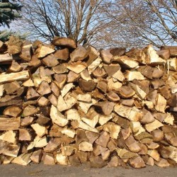 seasoned firewood for sale by Dostall Farms